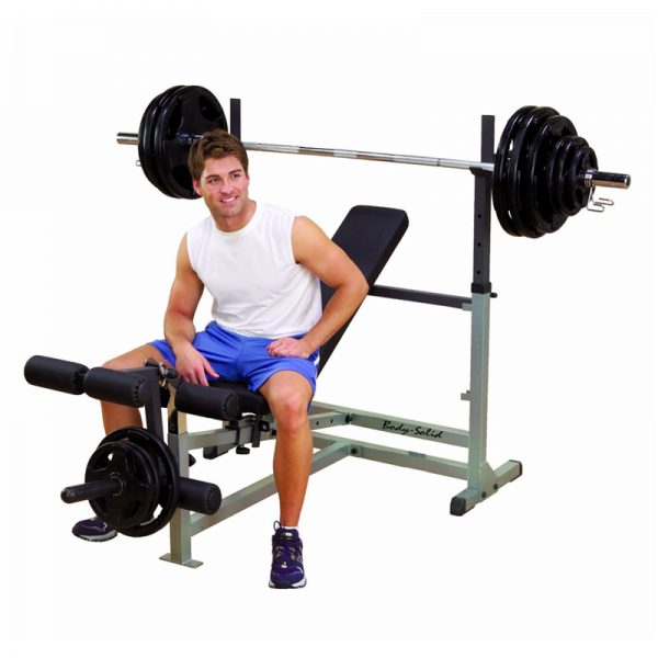 Body Solid GDIB46L Classic Power Bench