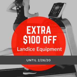 landice, treadmill, Landice Equipment