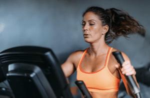 elliptical trainer , treadmill, workout, gym, equipment